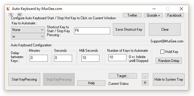 Auto Keyboard Presser