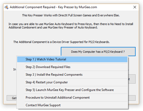 Steps to Install Key Presser for DirectX Games