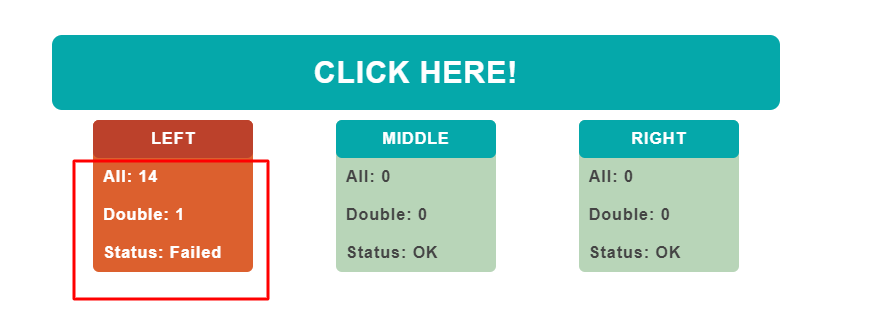 Double Click test tool